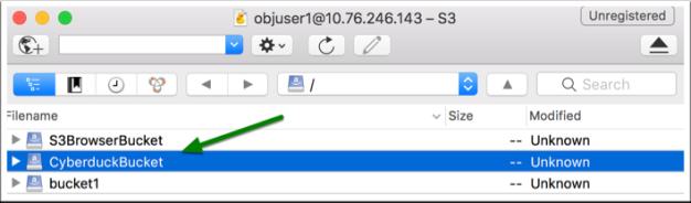 ECS bucket S3 versioning via GUI tools-5